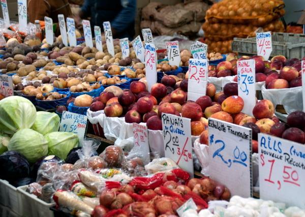Comment acheter des produits locaux pendant l'hiver?